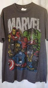 Men's Gray Marvel T Shirt Size XL Brand New w Tag